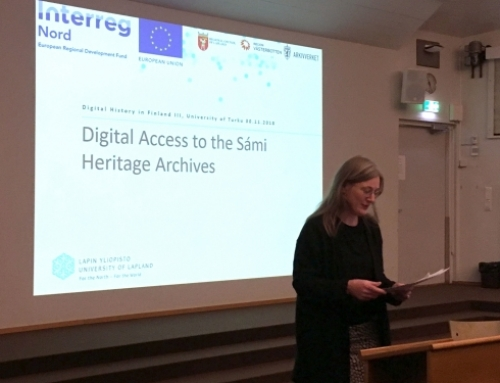 Presentation at Digital History in Finland III Symposium