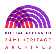 Digital Access to Sámi Heritage Archives Logo